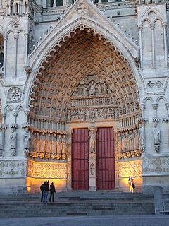 Catedral de Amiens, França  outra vista.