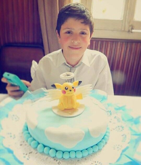Torta Pikachu comunion