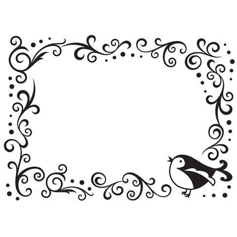 Bulk Buy: Darice DIY Crafts Embossing Folder Bird, Scroll Border 4.25 x 5.75 (3-Pack) 1216-63 * Details can be found by clicking on the image.