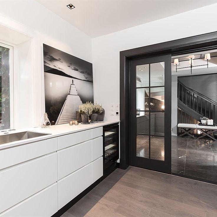 Moderne Kjøkken inspirasjon | Kompositt stein Benkeplate - Modern Kitchen ideas | Design | Composite Countertop | Silestone