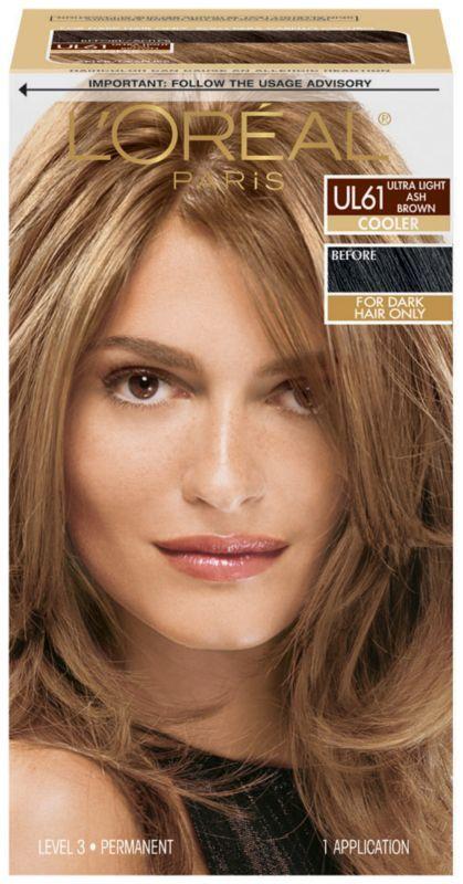 L'Oréal Preference True Brunettes Ultra Light Ash Brown UL61 Next dye job