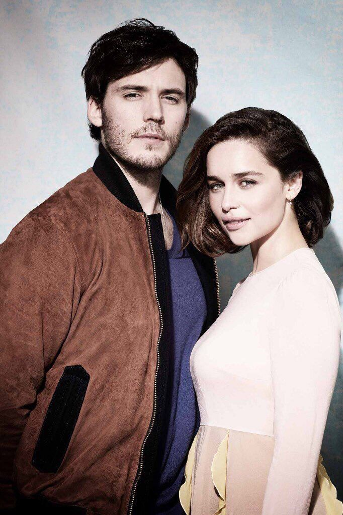 Sam Claflin and Emilia Clarke - photo by Sarah Dunn