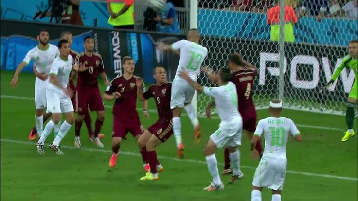 June 26: Islam Slimani's header puts Algerians in knockout stage