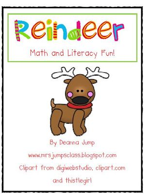 Ho-Ho Literacy and Math Freebie and a SALE!