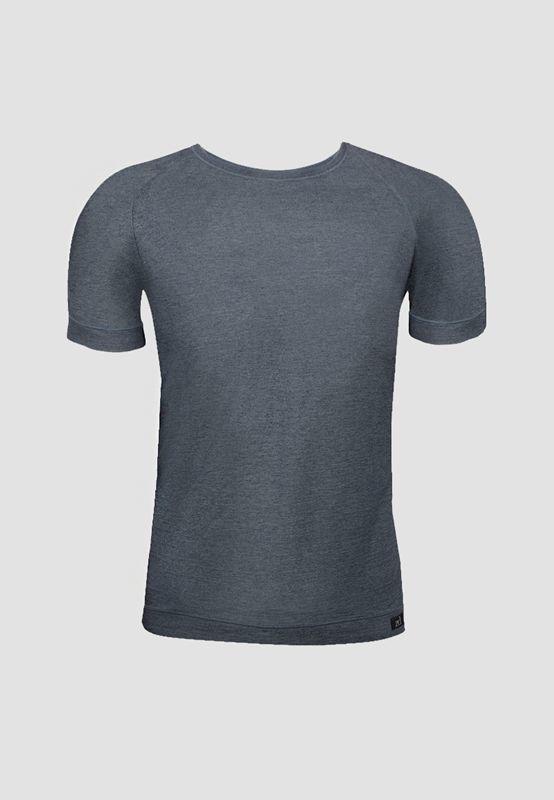 Camiseta ZD cuello redondo gris oscuro. ENVÍO 24/48h. 3300 GRAFITO. Perfectamente transpirable, muy cómoda. Cuello redondo. Ajustada. http://www.varelaintimo.com/83-camisetas-manga-corta