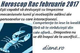 Horoscop februarie 2017 Rac