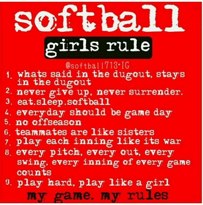 Softball rules