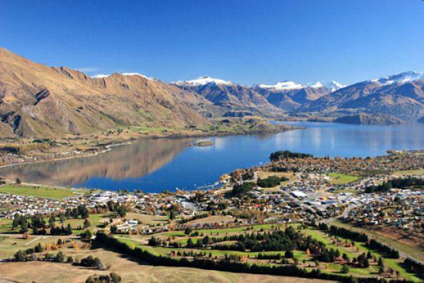 Wanaka, NZ. Así de impresionante es este pueblo de Nueva Zelanda. ¿A quién le apetece un intercambio de casa?