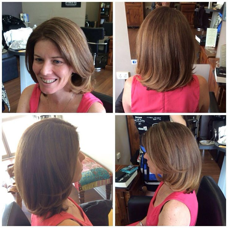 Our client Linda had balayage done by Clancy.