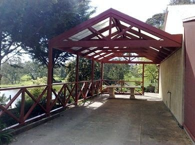 gabled timber carport - Google Search