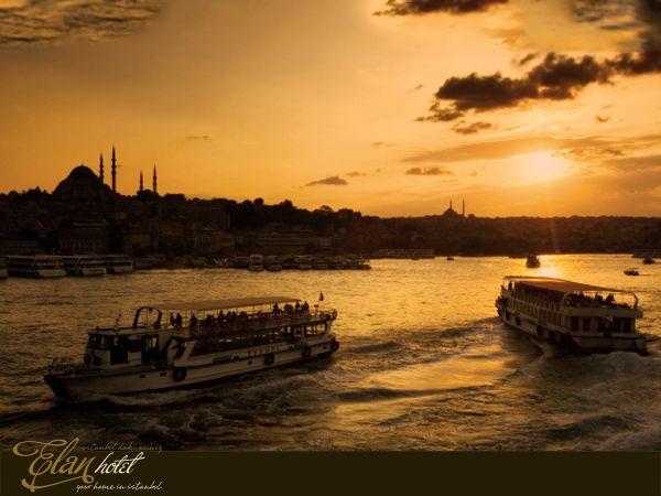 İstanbul yine sıradan bir gün batımı yaşıyordu :)) #elanhotelistanbul #sunset #istanbul #galata #taksim