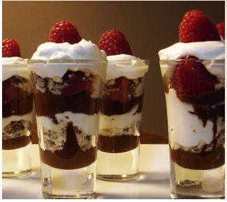 Mini Chocolate Trifles