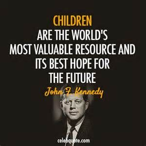 John F Kennedy Quotes About Love : quotes quotes about children child quotes john fitzgerald john kennedy ...