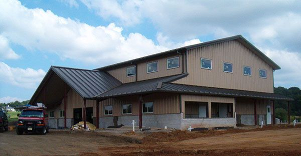 25 best ideas about pre engineered metal buildings on for Pre engineered houses
