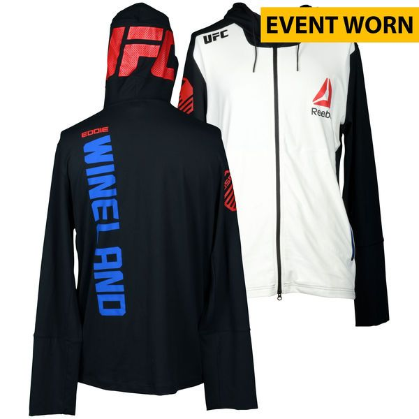 Eddie Wineland Ultimate Fighting Championship UFC on FOX Dillashaw vs. Barao 2 Event-Worn Walkout Hoodie - Fought Bryan Caraway in a Bantamweight Bout - $249.99