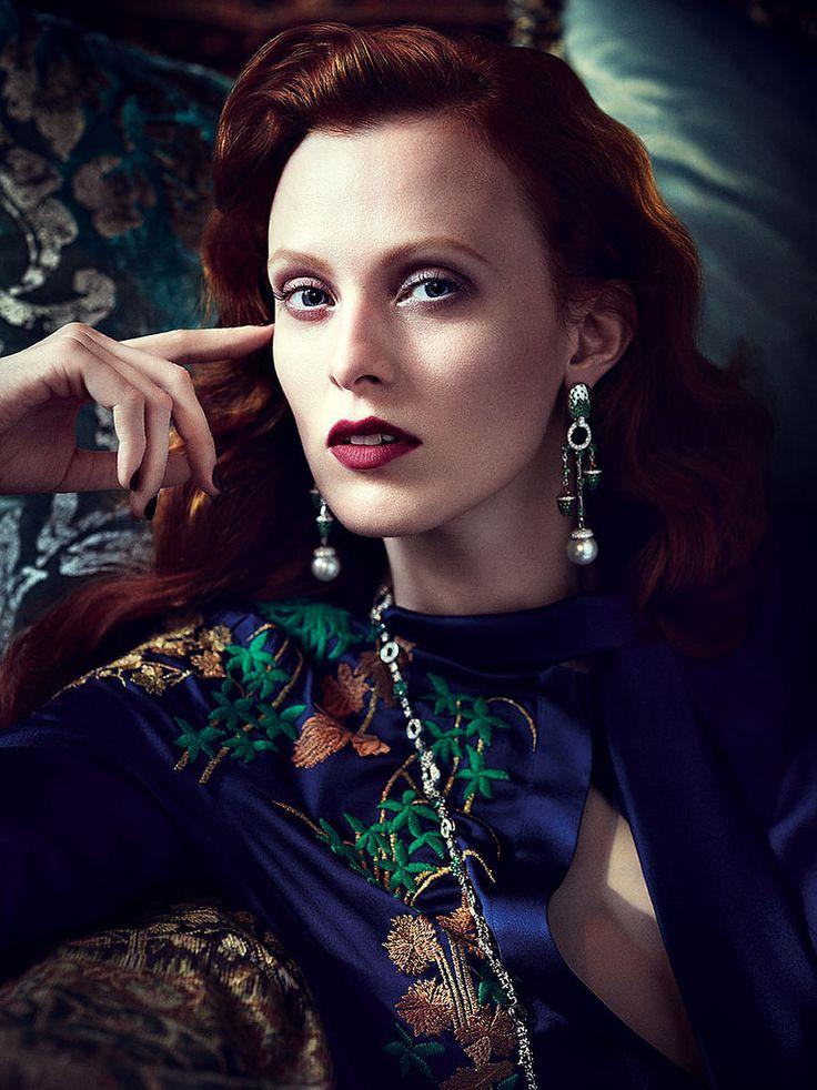 Карен Элсон — Фотосессия для «Vogue» MX 2014 – 10