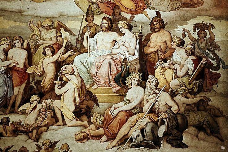 Karl Mossdorf The Wedding Of Cupid And Psyche Detail Tags Eros Greek Mythology Pinterest Roman