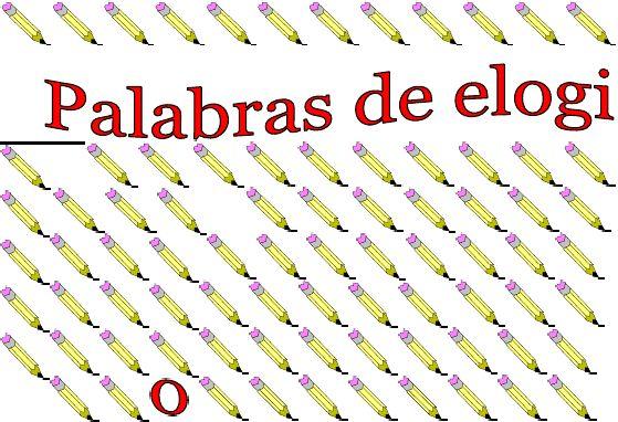Praise Words for Spanish Teachers- click for a proper copy
