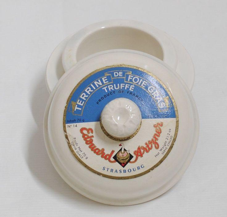 antica terrina in porcellana simplex france per foie gras | eBay