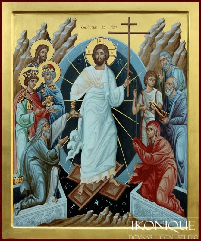 739 best Murals, Frescoes, and Icons images on Pinterest ... Russian Resurrection Icon