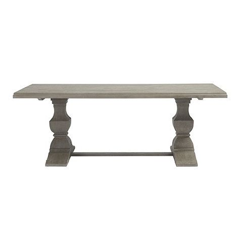 Andrews Double Pedestal Dining Table - 84""