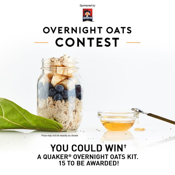 Quaker® Overnight Oats Contest