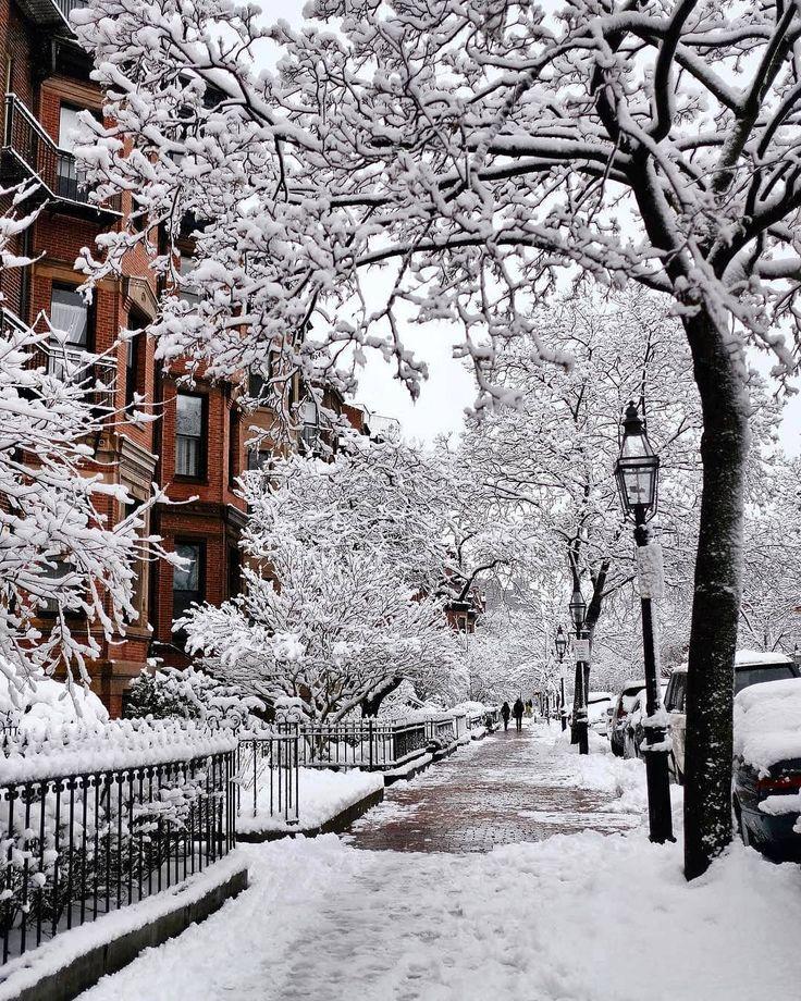 Улица зимняя картинка