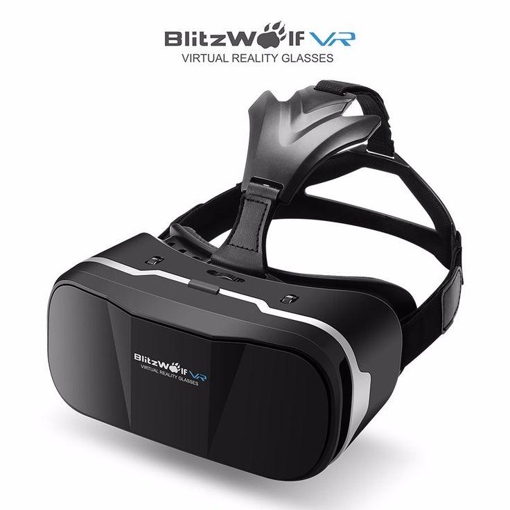 Aliexpress.com: Compre HeadMount BlitzWolf BW VR3 3D VR Realidade Virtual Óculos De Fone De Ouvido Original Para o iphone 7 6 Para Samsung 3.5 6.3 polegada smartphones de confiança 3d vr virtual reality fornecedores em BlitzWolf Official Store