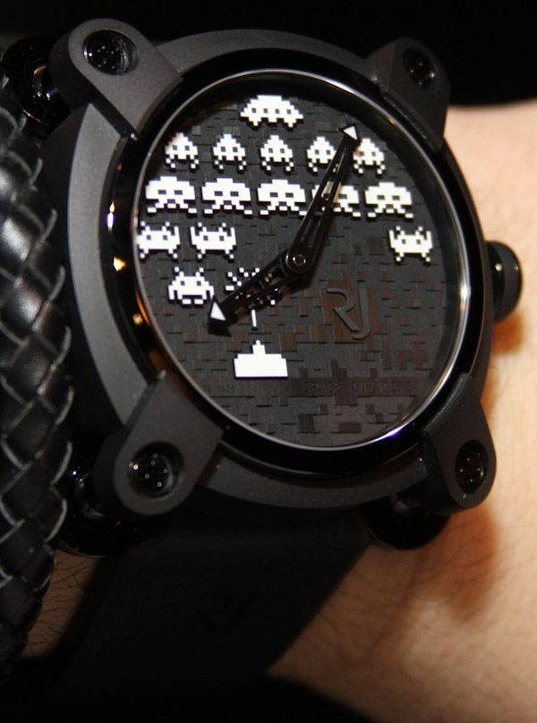 Technically this should go under Watch Fetish ... Romain Jerome Space Invaders Watch