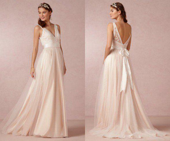Wedding Dresses For A Backyard Wedding - Rustic Wedding Chic
