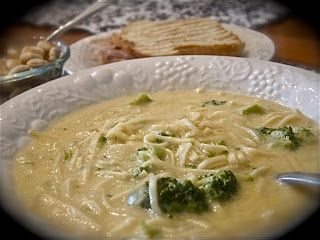 "Easy Peesy"" Broccoli Cheesy Soup - Comfy in the Kitchen. GREAT for a ..."