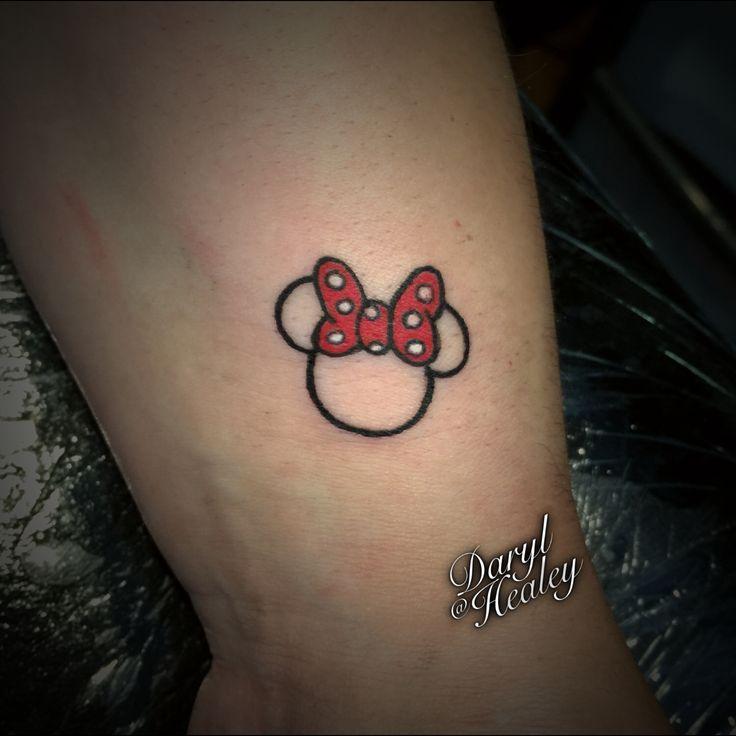 Tiny #disney #tattoo I did.