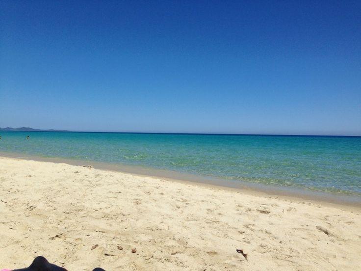 Cala Sinzias, Sardinia Magnificent water, beach between Costa Rei and Castiadas