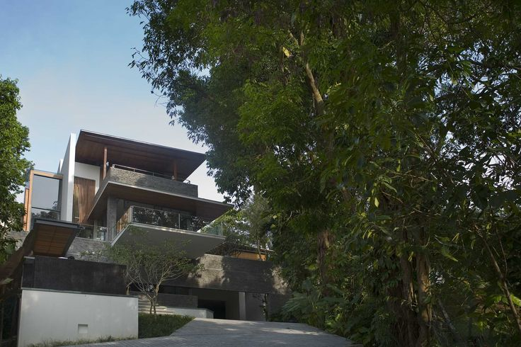 The Nassim Road house in Singapore by BEDMaR & SHi Design Consultants