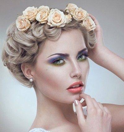 hair style flower 18 best wedding hair and makeup in los angeles ca images 4711