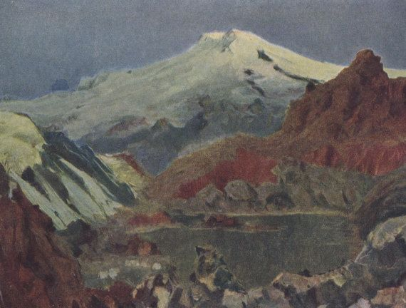 North Caucasus in Painting. Collection / Set by RussianSoulVintage