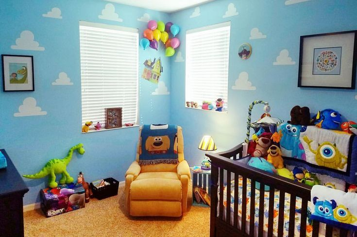 """1,459 Likes, 26 Comments - Jerrod Maruyama (@jmaruyama) on Instagram: """"My thanks to the Elliott family for sharing this pic of their adorable Pixar themed nursery AND for…"""""""