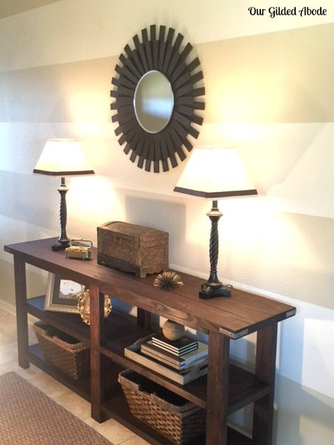 17 ideas about console table on pinterest miroir de - Table console miroir ...