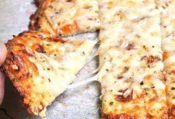 Breadsticks de couve-flor (pão ou pizza)
