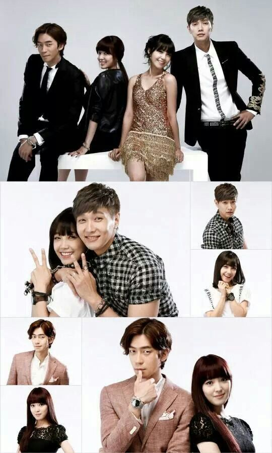 CAST FROM TROT LOVER