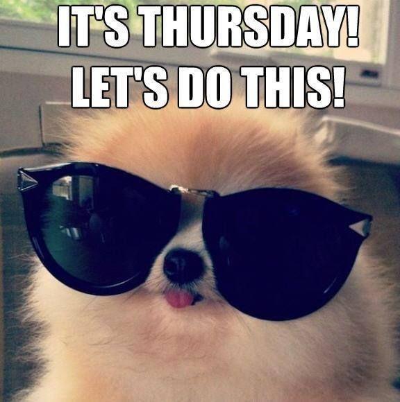 Happy Thursday, It's Thursday! Lets do this! #Thursday