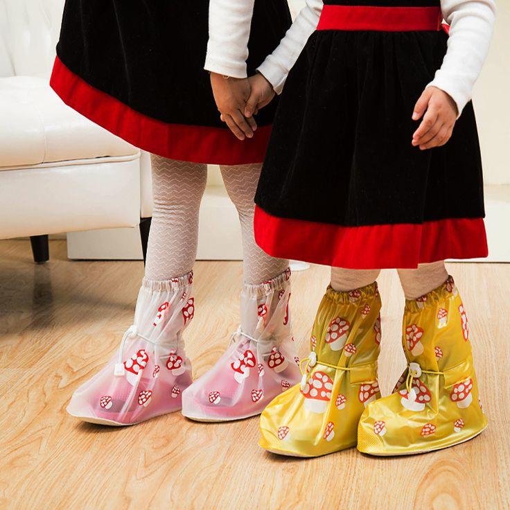 rain boots for kids Children Shoes Covers Kids Waterproof Shoe Cover Rain Boots botte fille hiver girls scarpe ragazzo EUR 25-34