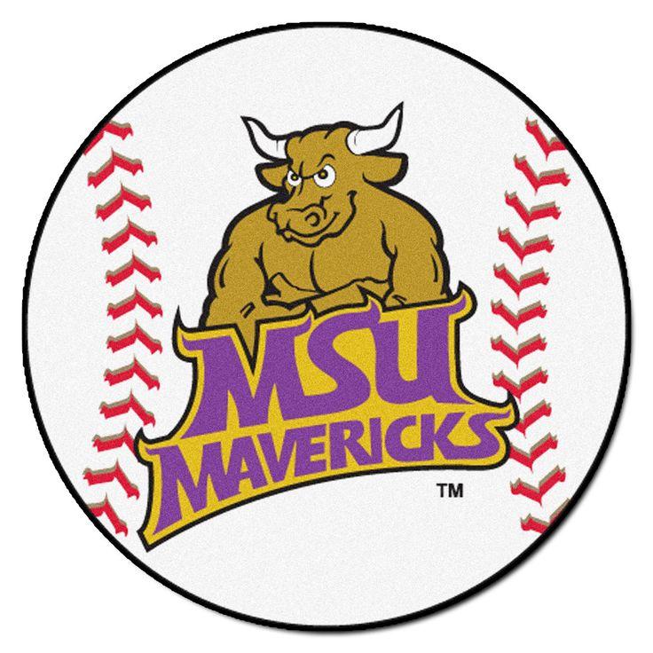 Minnesota State Mavericks Grand Slam Baseball Area Rug
