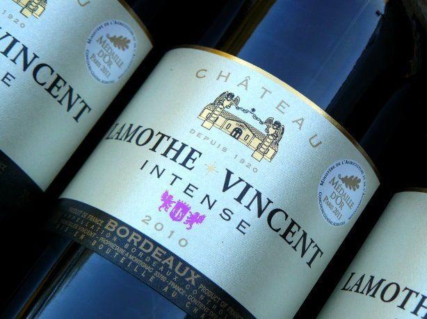 Chateau Lamothe Vincent Intense 2010