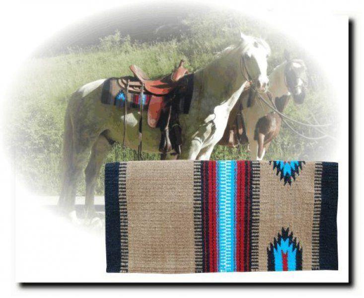 Westernová, podsedlová deka PACO | Horseriding.cz: Jezdecké potřeby, jezdecká sedla, jezdecké vybavení, lonžování, deky, sedla, uzdění