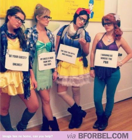 Hipster Disney Princesses…