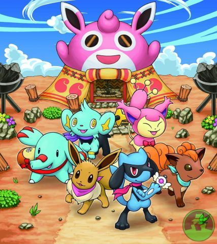 Pokemon dungeon crew! Goes along with the video game pokemon mystery dungeon: Exploers of Sky.