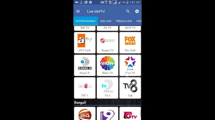 300+ live TV channels by using an app / Direct TV Watch