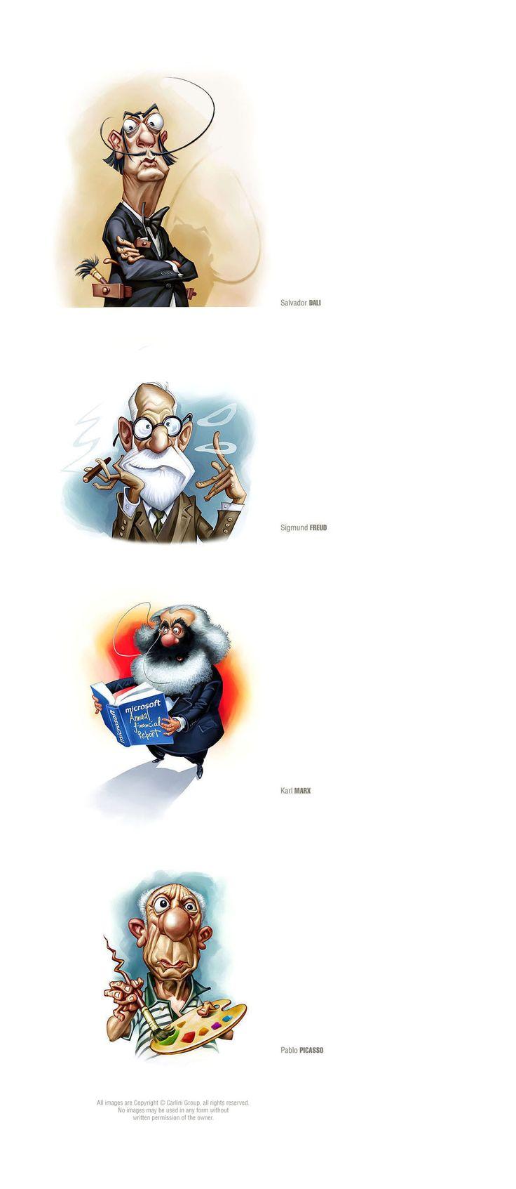Исторические персонажи, Иллюстрация © DiegoVelazquez