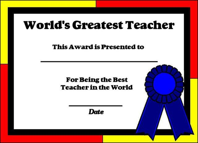 free printable certificates and awards
